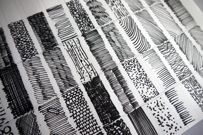 Pen and Ink - lines and texture - Tanya Hempson